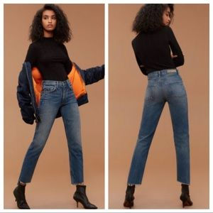 GRLFRND Helena Relaxed Fit Jeans in CLOSE TO YOU